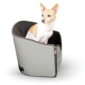 "Mod Pet Safety Seat (Color: Gray, Size: 15"" x 15"" x 15"")"