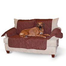 "Economy Furniture Cover Chair (Color: Chocolate, Size: 75"" x 108"" x 0.25"")"