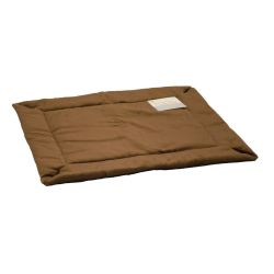 Self-Warming Crate Pad (Color: Mocha, Size: Extra Extra Large)