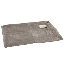 Self-Warming Crate Pad (Color: Gray, Size: Extra Extra Large)