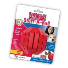 Stuff-A-Ball Dog Toy (Color: Red, Size: Extra Large)