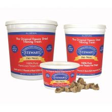 Stewart Pro-Treat Freeze Dried Pork Liver (Size: 12 oz.)