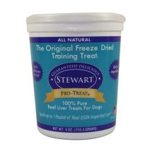 Stewart Pro-Treat Freeze Dried Beef Liver (Size: 4 oz.)