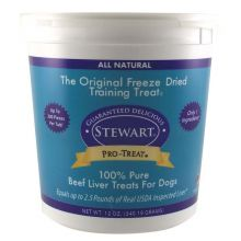 Stewart Pro-Treat Freeze Dried Beef Liver (Size: 14 oz.)