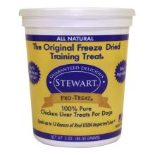 Stewart Pro-Treat Freeze Dried Chicken Liver (Size: 3 oz.)