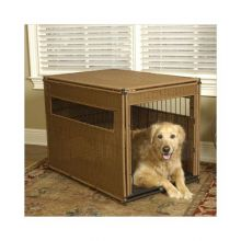 Pet Residence (Color: Dark Brown, Size: Large)