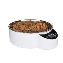 Intelligent Pet Bowl (Color: White, Size: 1.8 Liter)