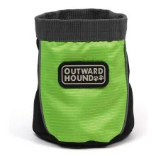 "Dog Treat N Ball Bag (Color: Green, Size: 7"" x 6"" x 1"")"