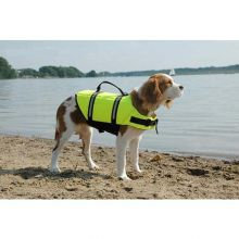 Dog Life Jacket (Color: Yellow, Size: Extra Extra Small)