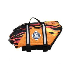 Dog Life Jacket (Color: Flame, Size: Extra Large)