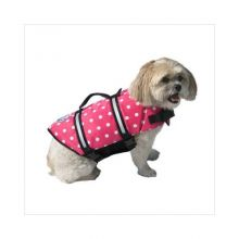 Dog Life Jacket (Color: Pink Polka Dot, Size: Extra Extra Small)