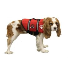Dog Life Jacket (Color: Red, Size: Extra Extra Small)
