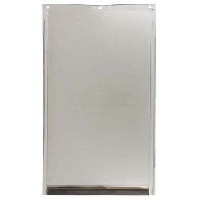 Replacement Flap For Freedom Door (Color: Semi-Transparent, Size: Small)