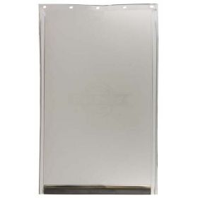 Replacement Flap For Freedom Door (Color: Semi-Transparent, Size: Large)