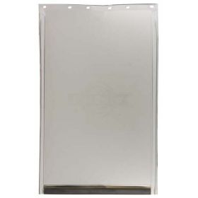 Replacement Flap For Freedom Door (Color: Semi-Transparent, Size: Extra Large)