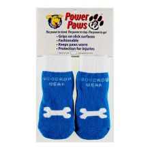 Power Paws Advanced (Color: Blue / White Bone, Size: Extra Extra Large)