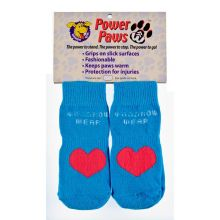Power Paws Advanced (Color: Blue / Red Heart, Size: Extra Extra Large)