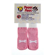 Power Paws Advanced (Color: Pink / White Bone, Size: Extra Extra Large)