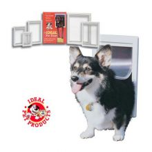 Original Pet Door (Color: White, Size: Medium)