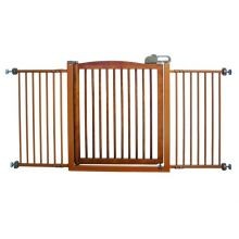 "One-Touch 150 Pressure Mounted Pet Gate (Color: Autumn Matte, Size: 35"" - 61"" x 2"" x 34.6"")"