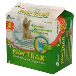 Paw Trax Pet Training Pads (Quantity: 30)