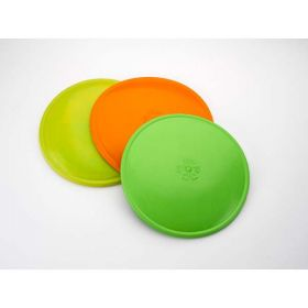 "K9 Flyer Dog Toy (Color: Lime, Size: 9.5"" x 9.5"" x 0.2"")"