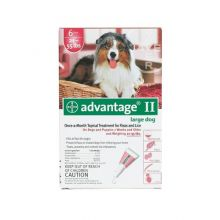 Flea Control for Dogs and Puppies (Dog Size: 21-55 lbs, Month Supply: 6 Months)