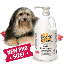 Rockin' Paws Rockin' Show Stopper Serum (Package Size: Professional one-half(1/2) gallon)