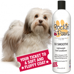 Rockin' Paws So Smooth Coat Conditioner (Package Size: One Bottle)