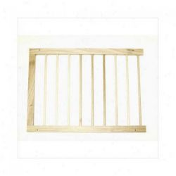 "Extension For Step Over Free Standing Gate (Color: Natural Wood, Size: 22"" x 20"")"