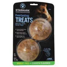 Everlasting Treat Veggie Chicken 2 pack (Color: Brown, Size: Large)