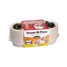 Store-N-Feed (Color: White, Size: Large)