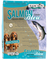 Addiction Food Salmon Blue -Puppy (Package Size: four (4) pounds)