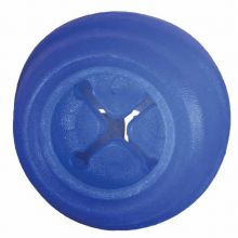 "Everlasting Treat Ball (Color: Blue, Size: 3.75"" x 3.75"" x 3.75"")"