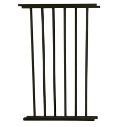 "VersaGate Hardware Mounted Pet Gate Extension (Color: Black, Size: 20"" x 30.5"")"
