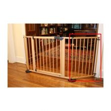 "VersaGate Hardware Mounted Pet Gate Extension (Color: Wood, Size: 20"" x 30.5"")"