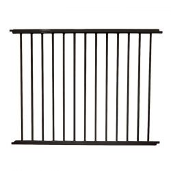 "VersaGate Hardware Mounted Pet Gate Extension (Color: Black, Size: 40"" x 30.5"")"