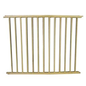 "VersaGate Hardware Mounted Pet Gate Extension (Color: Wood, Size: 40"" x 30.5"")"