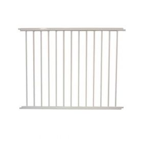 "VersaGate Hardware Mounted Pet Gate Extension (Color: White, Size: 40"" x 30.5"")"