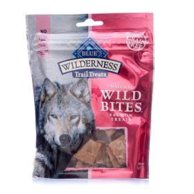 Blue Wilderness Grain free Trail Treats Dog Wild Bites (Product Flavor: Wild Bites Salmon Treats)