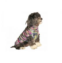 Wisteria Purple Woodstock Dog Sweater (Size: Small)