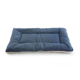 "Pet Dreams Classic Sleep-ezz Pet Bed (Color: Denim, Size: X-SMALL 19""x13"")"