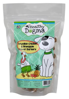 Healthy Dogma All Natural Dog Biscuits Hawaiian Chicken (Package Size: 8 ounce bag)