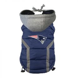 New England Patriots Puffer Vest (Size: Medium)