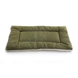 "Pet Dreams Classic Sleep-ezz Pet Bed (Color: Olive, Size: X-SMALL 19""x13"")"