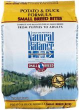 Small Bites Dry Dog Food - Potato and Duck Formula and Ultra Premium Formula (Pound Bag: 5 Lb., Product Flavor: Potato and Duck Small Bites Dry Dog Food)