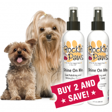 Rockin' Paws Shine On Me Polishing and Detangling Spray (Package Size: Buy Two Bottles and Save!)