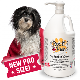 Rockin' Paws So Rockin' Clean Dog Shampoo (Package Size: Professional 1 gallon bottle)