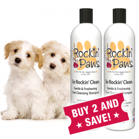 Rockin' Paws So Rockin' Clean Dog Shampoo (Package Size: Buy Two Bottles and Save!)