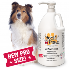 Rockin' Paws So Smooth Coat Conditioner (Package Size: Professional 1 gallon bottle)